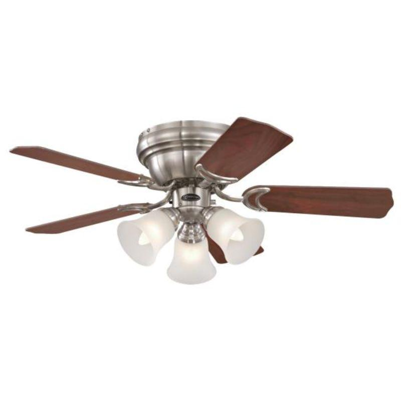 90 cm Contempra Trio, Brushed Nickel, 5 Reversible Blades,  Indoor