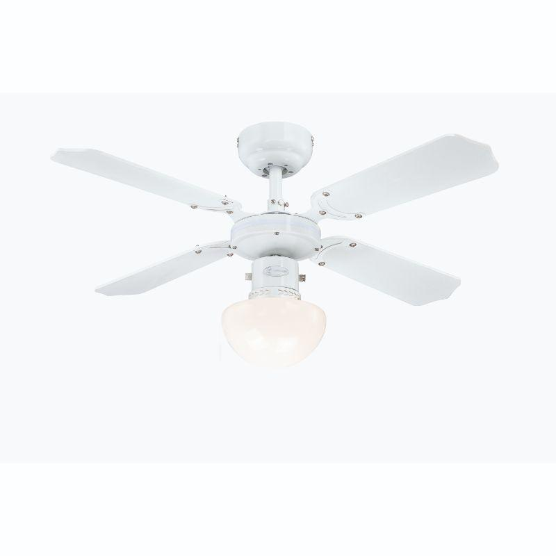 90cm Portland Ambience White-White/Beech