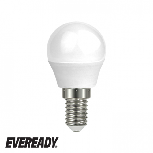 Eveready 6W LED Golf 470Lm Opal E14 Warm White Boxed S13608