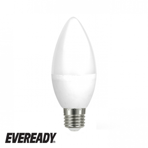 Eveready 6W Led Candle 480Lm Opal E27 Warm Daylight Boxed S13615