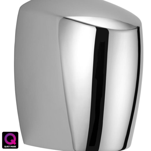Intelligent EcoForce Hand Dryer Polished Chrome
