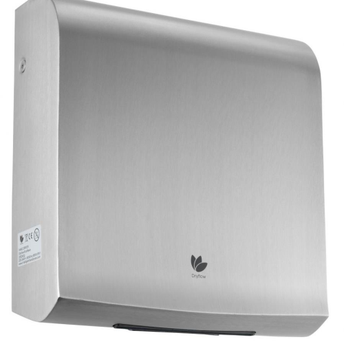Intelligent DryFlow EcoWave Hand Dryer Brushed Satin