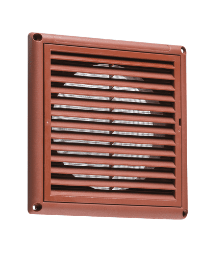 "4"" Extractor Fan Grille  - Terracotta"