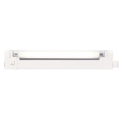 IP20 10W T4 Fluorescent Fitting with Tube,Switch and Diffuser 4000K | West Midland Electrics