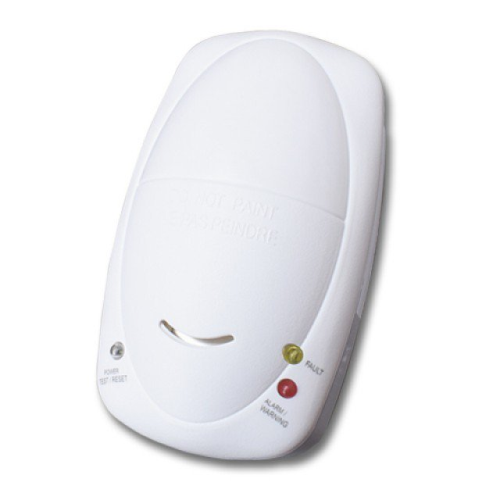 Carbon Monoxide Alarm With Battery Backup (Mains Operated)