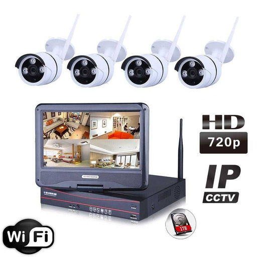 Ener-J Wireless IP Camera System WIFI NVR