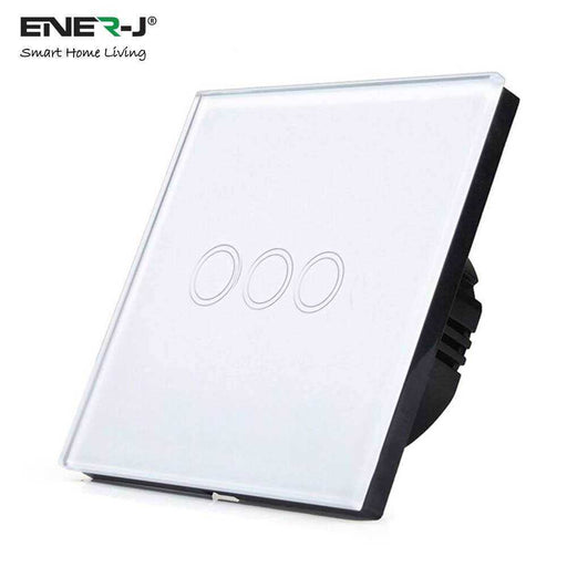 Ener-J 3 Gang Smart WiFi Wall Switch