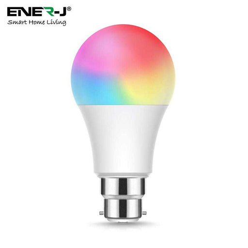 Ener-J Wi-Fi Smart A60 9W RGB+W+WW Bulb With B22 Holder