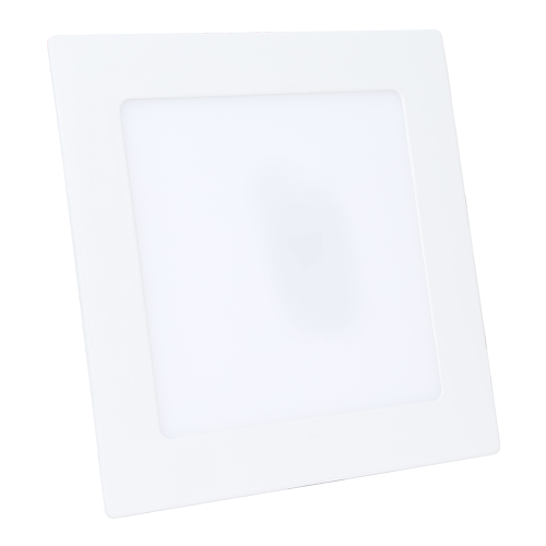 Rother 9W LED Recessed Panel Light Square