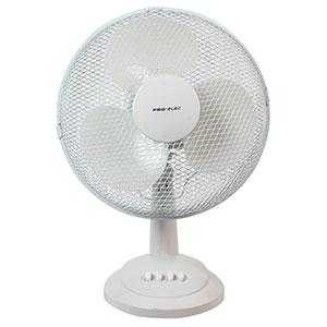 "16"" White Desk Fan"