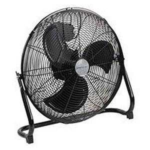 "20"" Black High Velocity Fan"