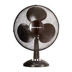 "9"" Black Desk Fan"
