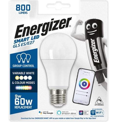 Energizer Smart LED GLS E27