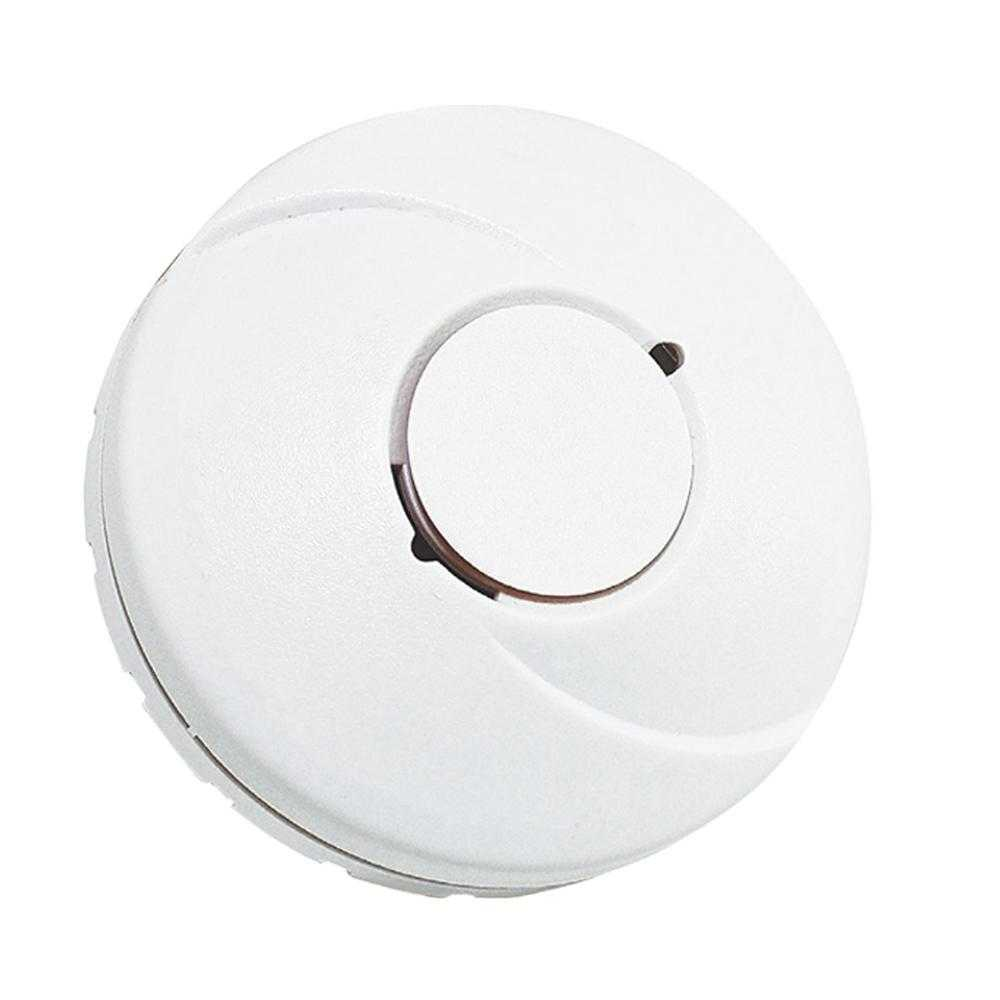 Hispec Photoelectric Battery Operated Smoke Alarm