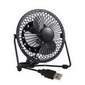 "Black 4"" Mini USB Desk Fan"