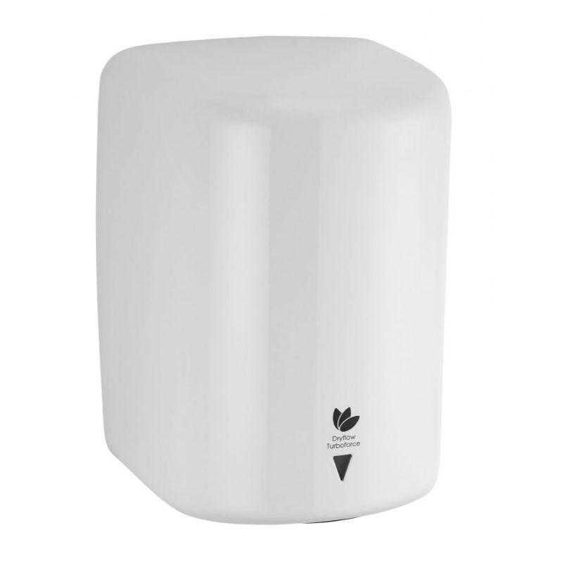 Intelligent Turboforce Hand Dryer White