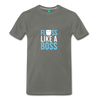 Image of Buy Floss Dance Floss Like A Boss T-Shirt: Shop top fashion brands - asphalt