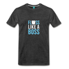 Image of Buy Floss Dance Floss Like A Boss T-Shirt: Shop top fashion brands - charcoal gray