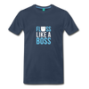 Image of Buy Floss Dance Floss Like A Boss T-Shirt: Shop top fashion brands - navy