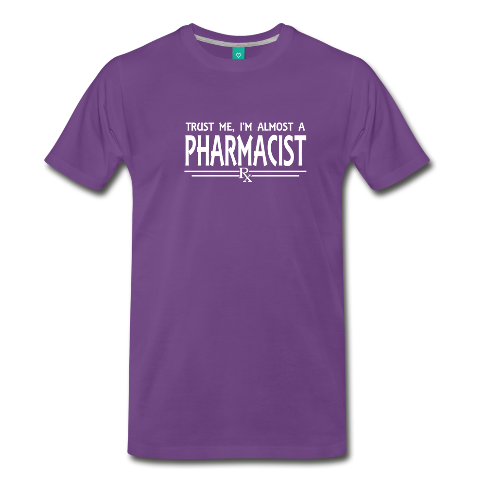 Almost A pharmacist Men's Premium T-Shirt - purple