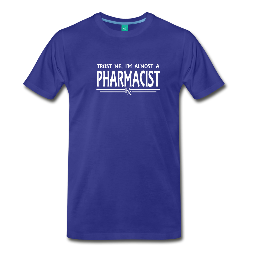 Almost A pharmacist Men's Premium T-Shirt - royal blue