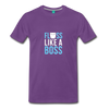 Image of Buy Floss Dance Floss Like A Boss T-Shirt: Shop top fashion brands - purple