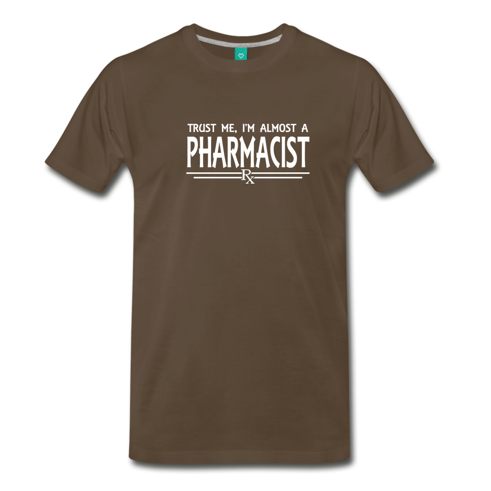 Almost A pharmacist Men's Premium T-Shirt - noble brown