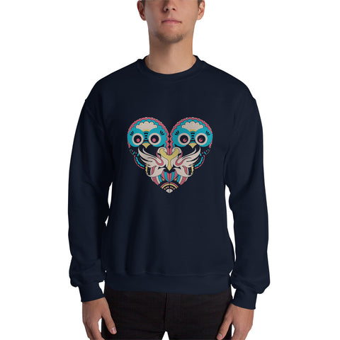 Heart Artistic Design Sweatshirt