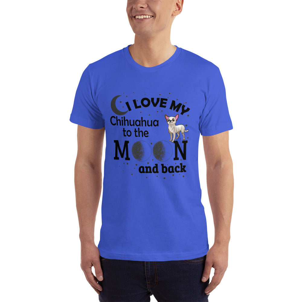 I Love my Chihuahua Dog - Dogs Lover T-Shirt