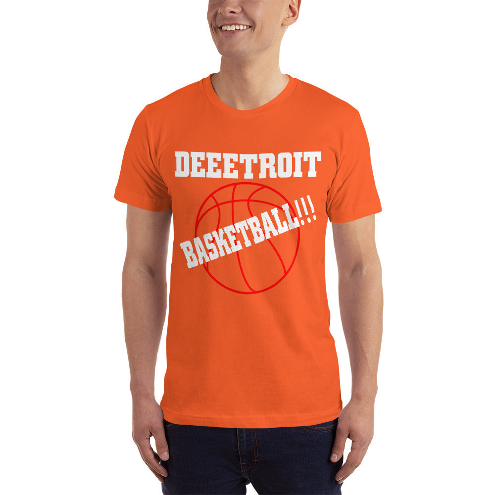 Detroit Basketball - Basketball Fan T-Shirt