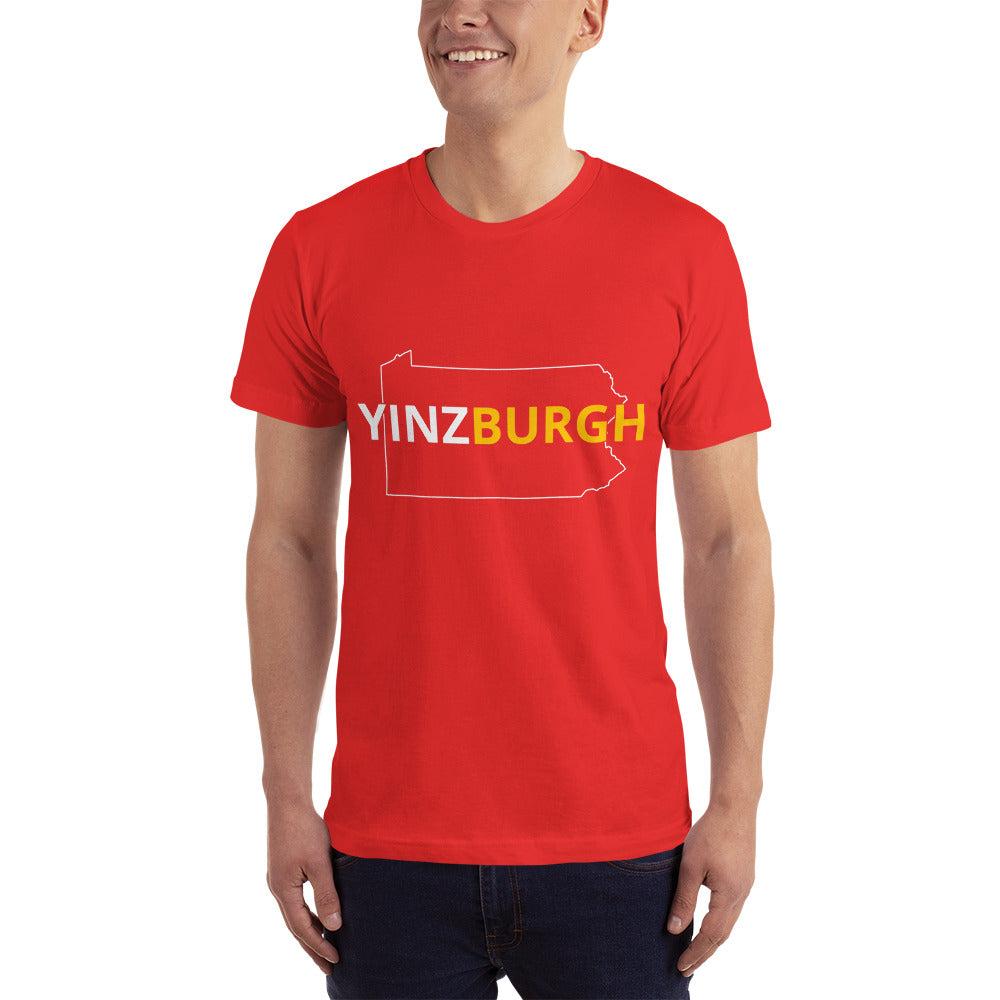 I Love Yinzburgh - Yinzburgh Location Lover T-Shirt