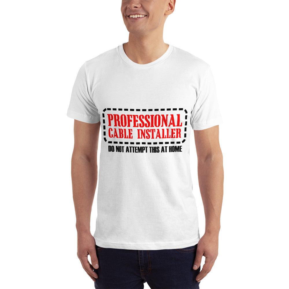 Professional Cable Installer - Profession T-Shirt