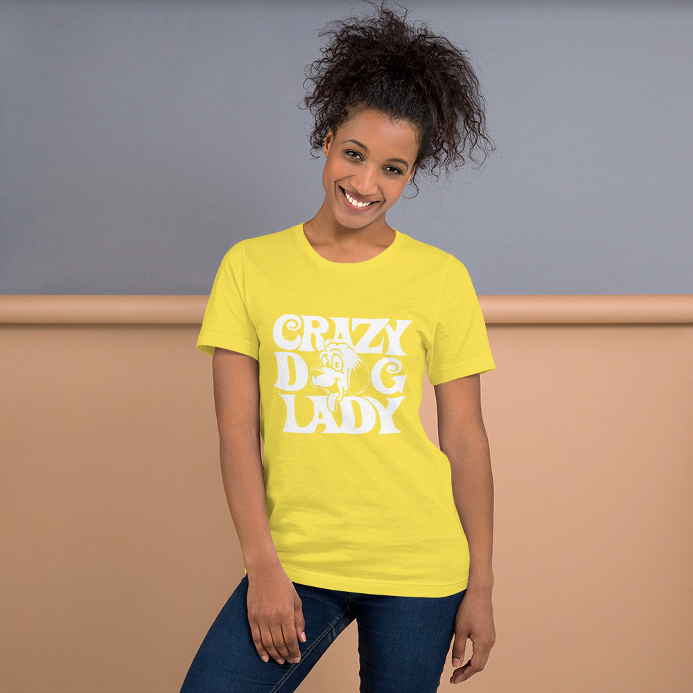 Crazy Dog Lady - Dogs Lover T-Shirt