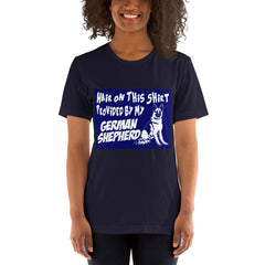 Love my German Shepherd Dog - Dogs Lover T-Shirt