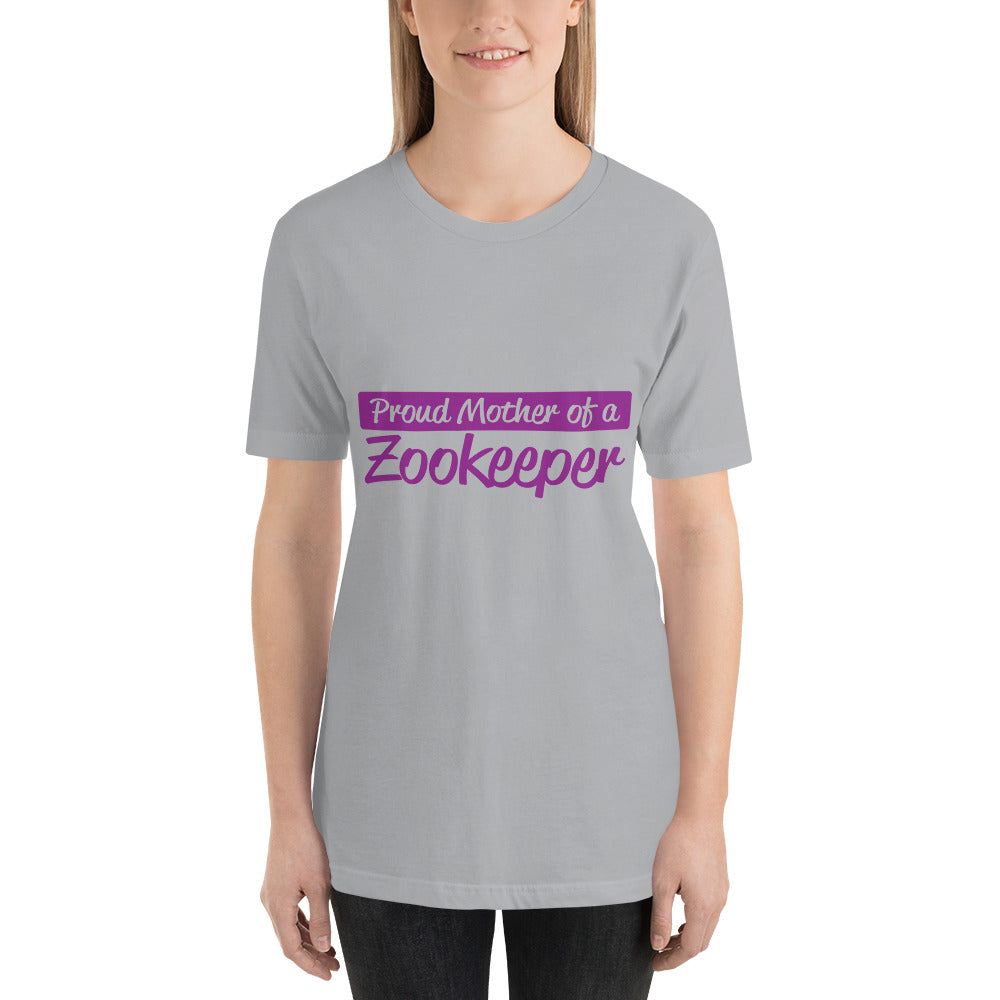 Proud Mother of ZooKeeper - Profession T-Shirt