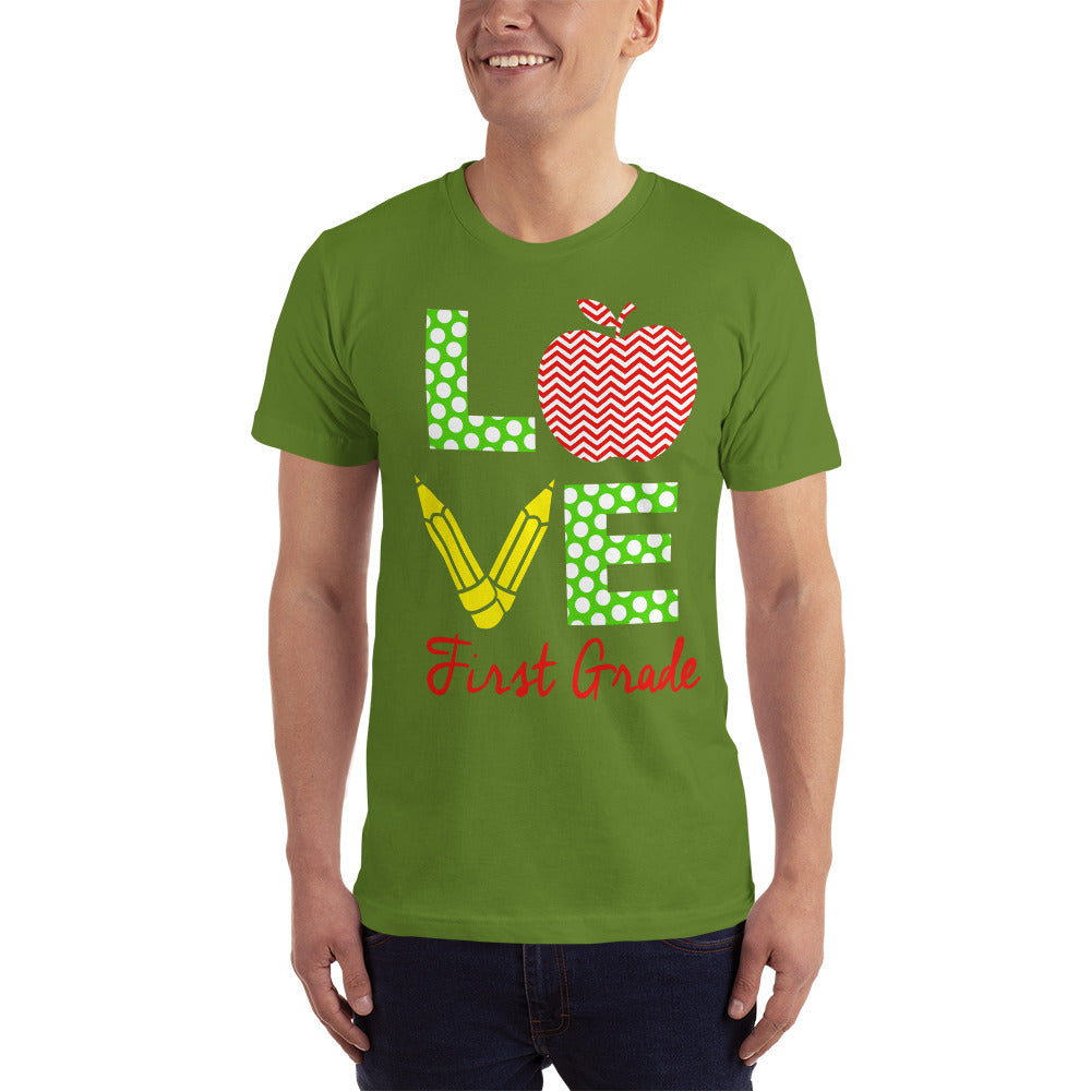 Love First Grade T-Shirt