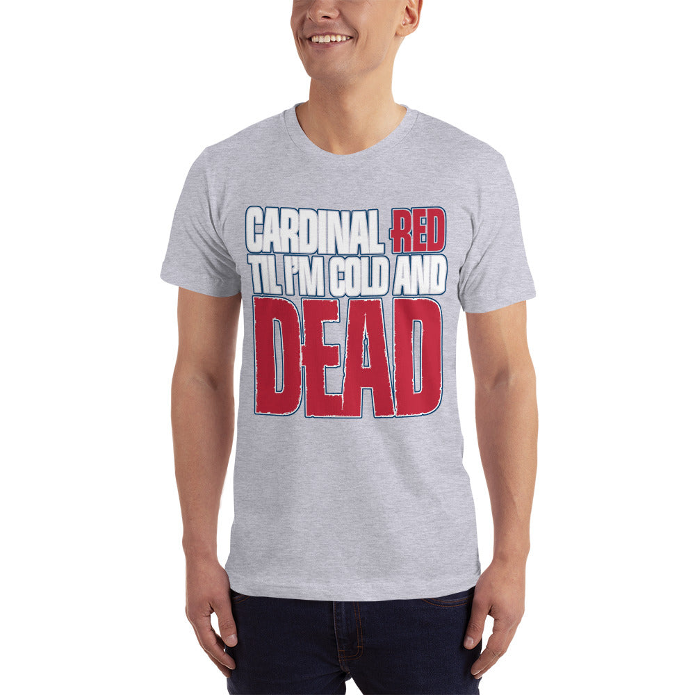 Cardinal Red - Baseball Fan T-Shirt