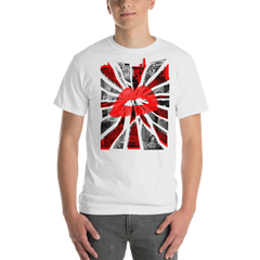 UK FLAG Artistic Design Short-Sleeve T-Shirt