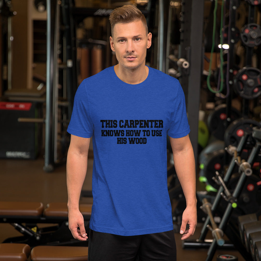 This Carpenter Knows How to Use the Wood - Short Sleeve Unisex T-Shirt