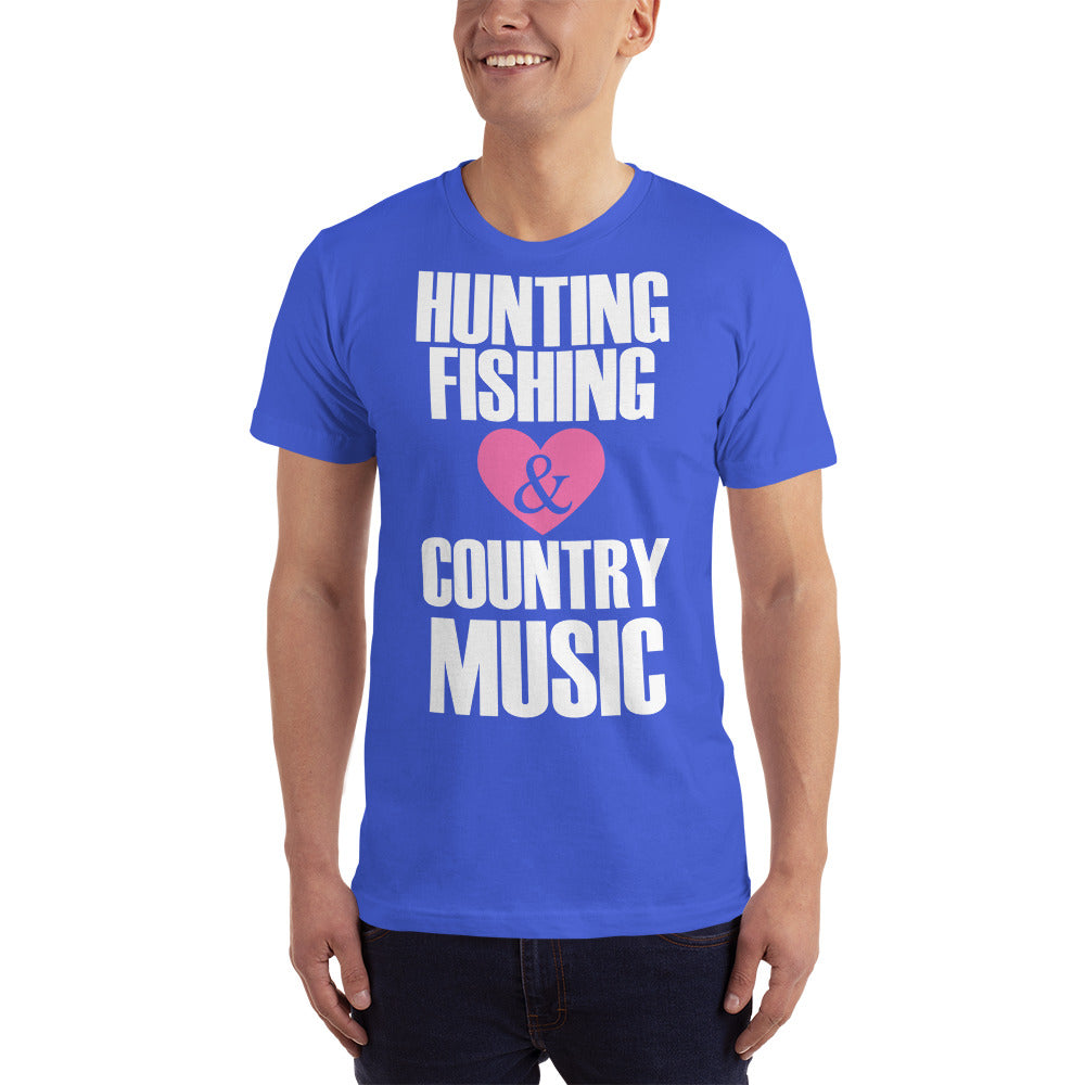 Hunting Fishing & Country Music T-Shirt