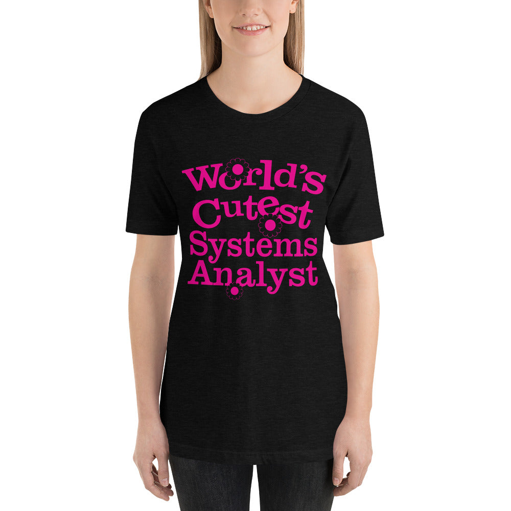 World's Cutest System Analyst - Profession T-Shirt