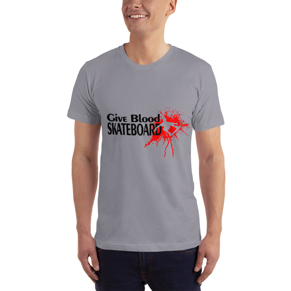 Give Blood Skateboard - Hobby T-Shirt