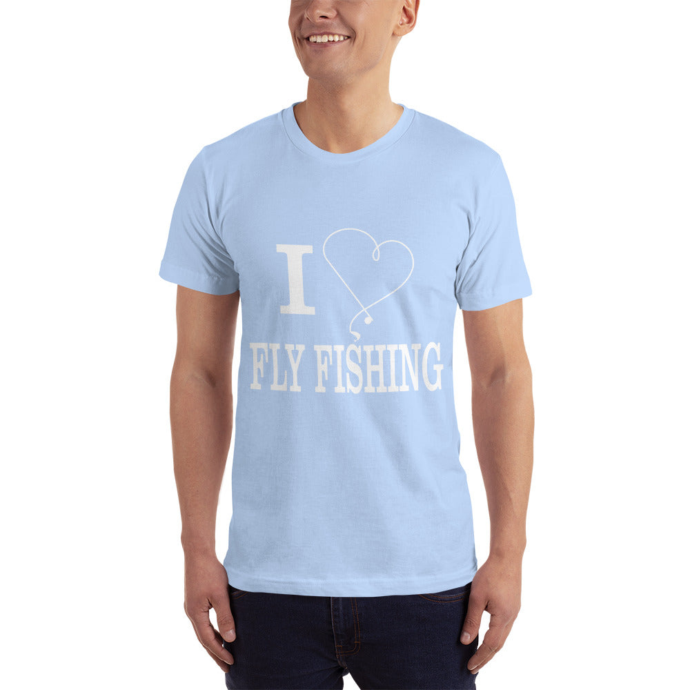 I Love Fly Fishing T-Shirt