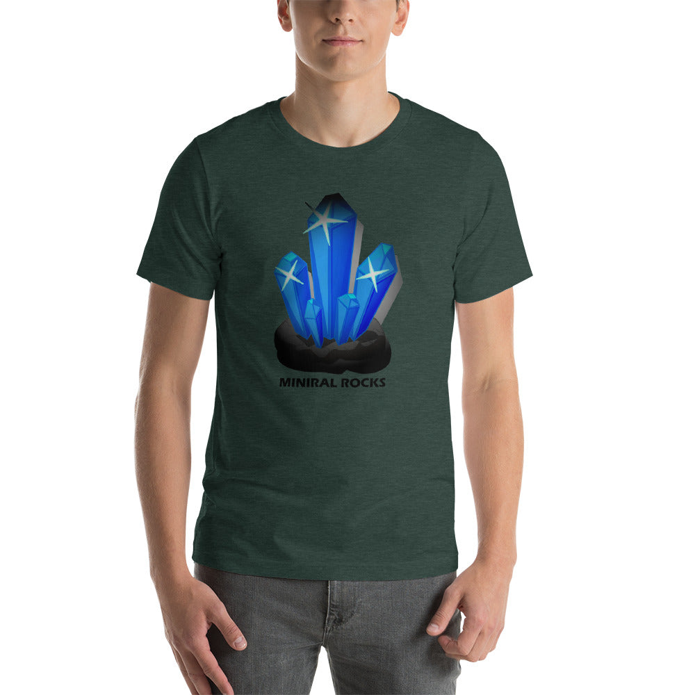 Mineral Rocks Geology T-Shirt with Tear Away Label