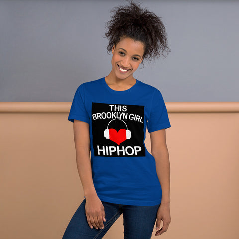 Brooklyn girl Loves HIPHOP - Brooklyn Location Lover T-Shirt