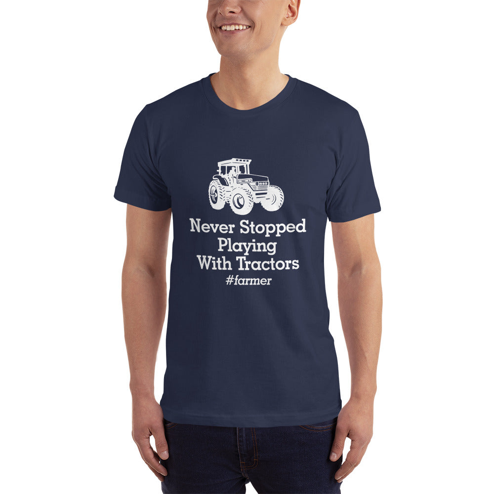 Never Stopped Playing with Tractors - Profession T-Shirt