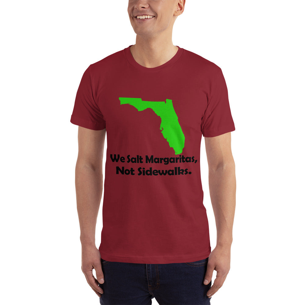 Floridians not Sidewalk - Floridian Location Lover T-Shirt