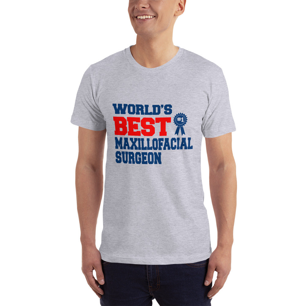 Worlds Best Maxillofacial Surgeon - Medical T-Shirt