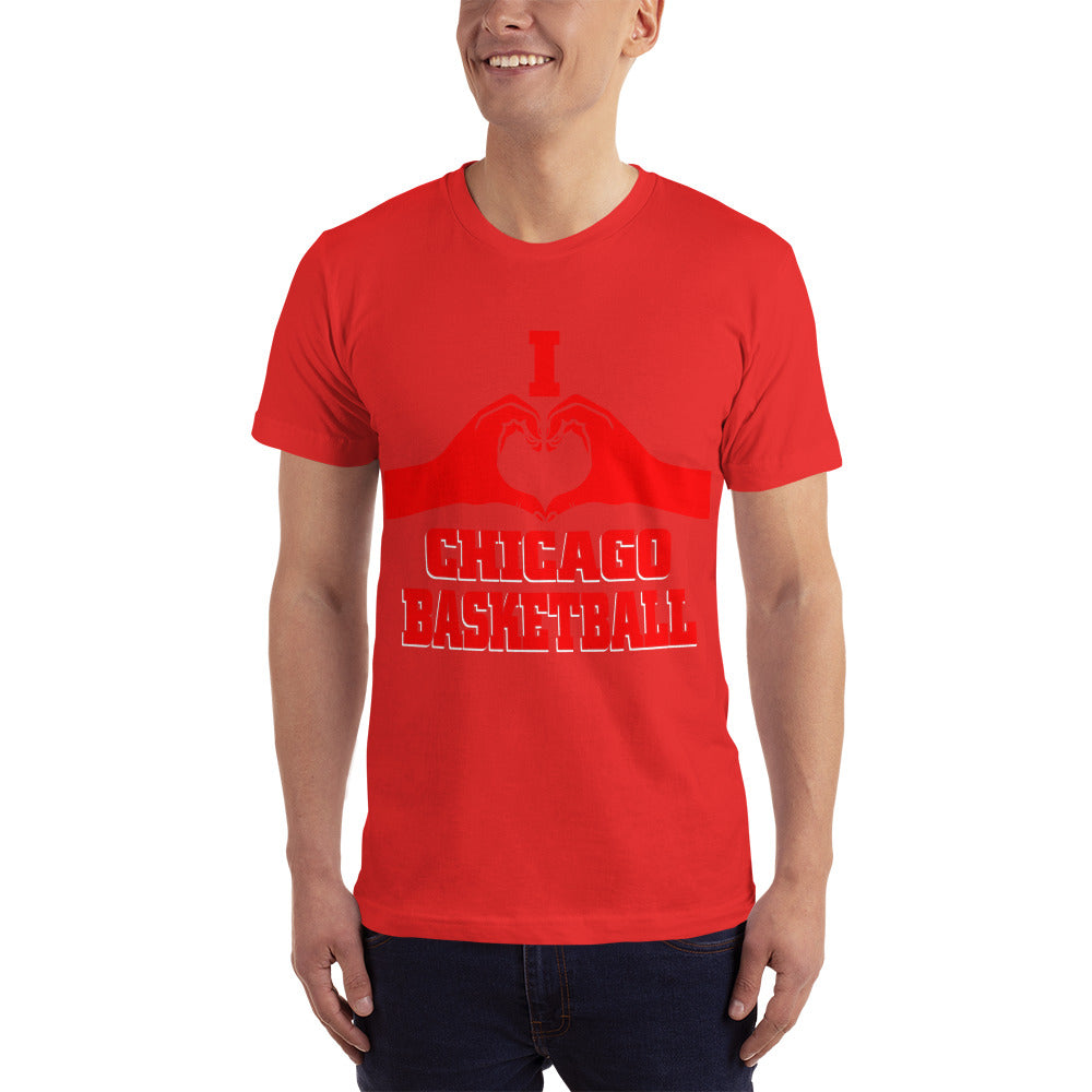 I Love Chicago Basketball - Basketball Fan T-Shirt
