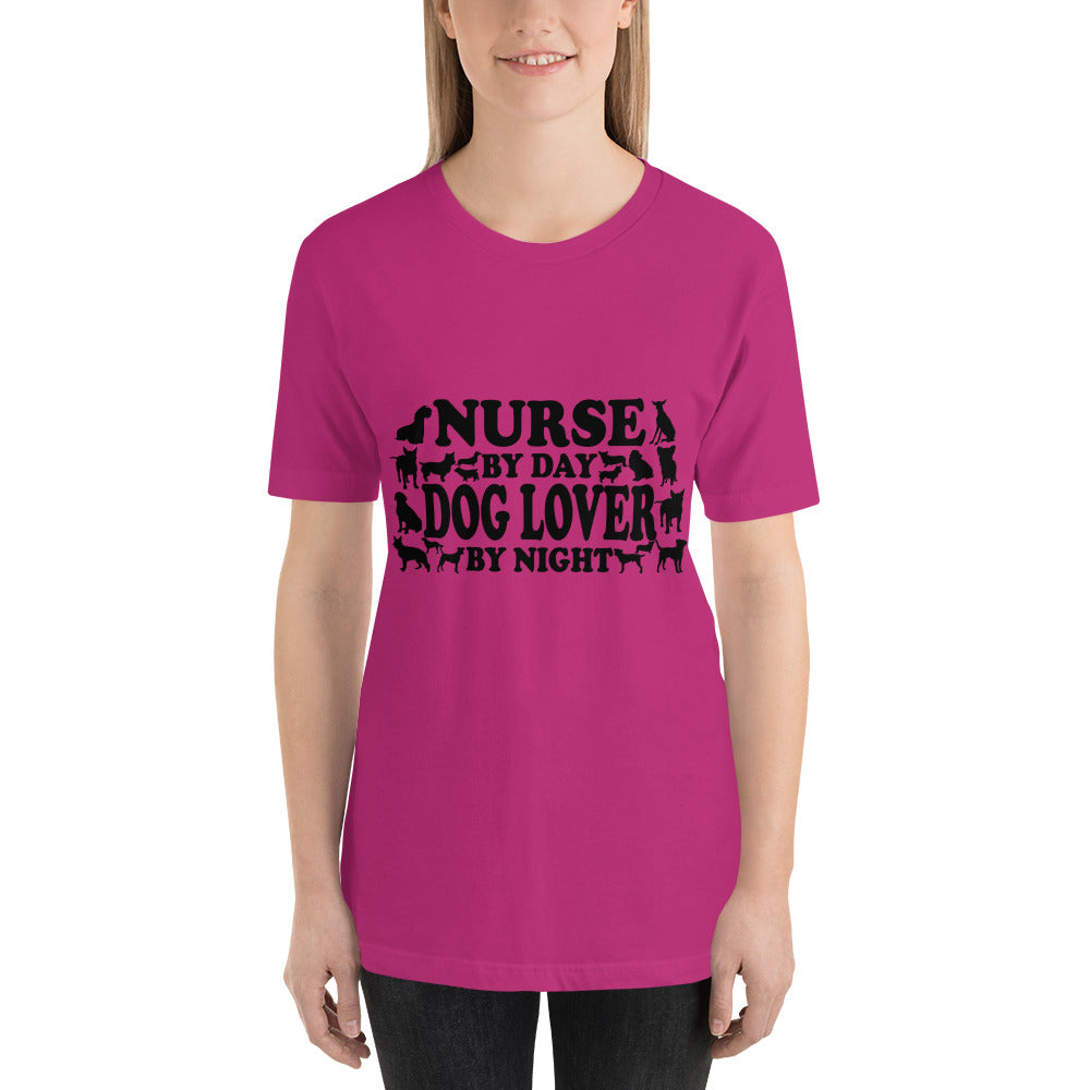 Nurse by Day Dog Lover by Night - Dogs Lover T-Shirt